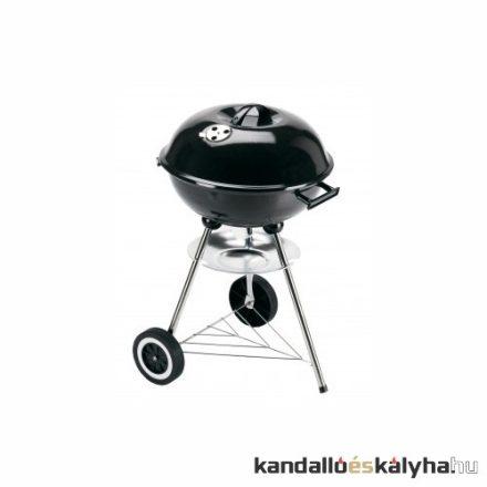 A 8990ft-os gömbgrill. Grill chef-től, 3 lábú, polccal, keréken, 43,5cm