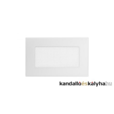 Egyszerű szellőzőrács fehér 11x17cm