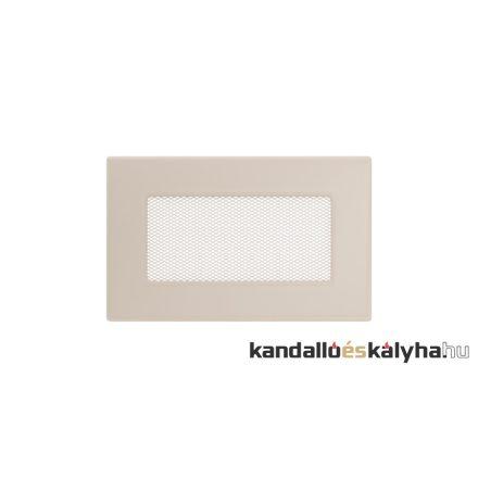 Egyszerű szellőzőrács krém 11x17cm