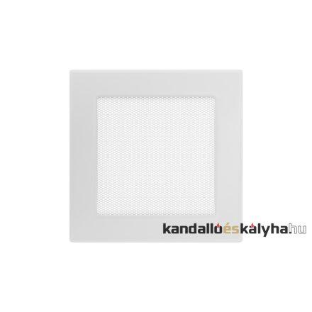 Egyszerű szellőzőrács fehér 17x17cm