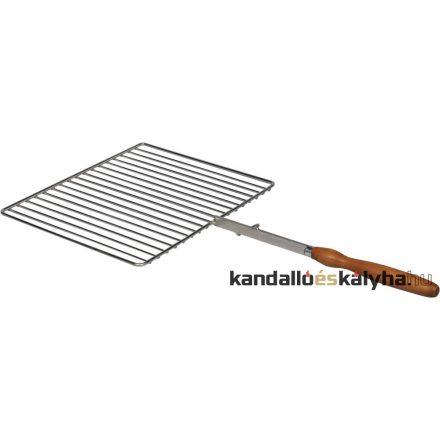 Grillrács a forgókarhoz (négyszög 42x35cm)