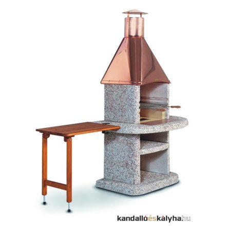 Komfort fából készült asztal - barna - egyenes - 70x45cm
