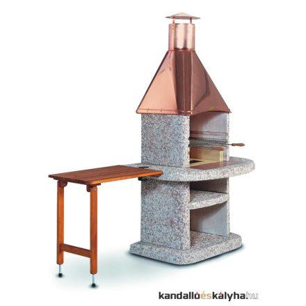 Comfort fából készült asztal - barna - egyenes - 70x45cm