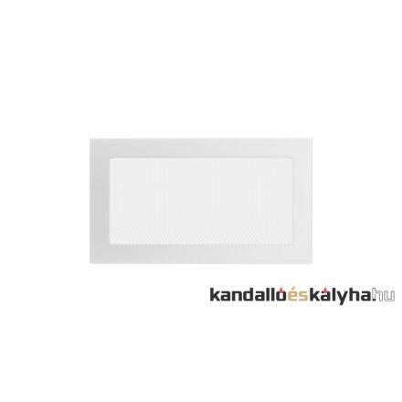 Egyszerű szellőzőrács fehér 17x30cm