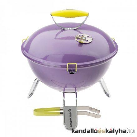 Landmann piccolino asztali grill 37 cm (levendula)