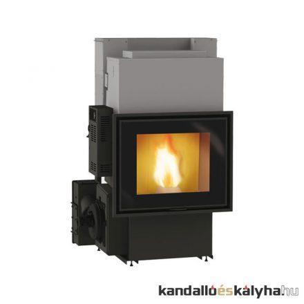 Vízteres pellet kandalló / edilkamin idropellbox 30 / 27 kw / 100-as füstcső csatlakozással