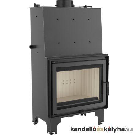 Vízteres fatüzelésű kandalló / kratki aquario a18 / 18 kw / 200-as füstcső csatlakozással