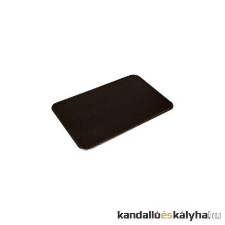 Fekete lemez alátét 80x50