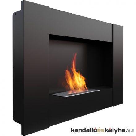Beépíthető biokandalló / kratki bravo2 / fekete