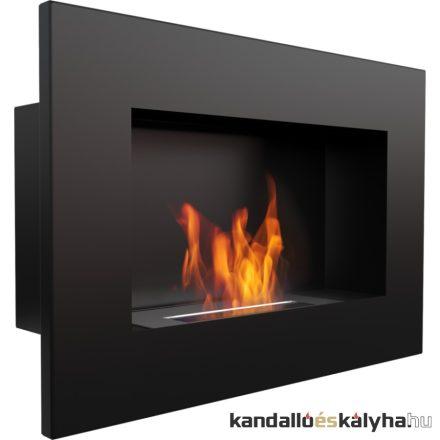 Beépíthető biokandalló / kratki delta / fekete