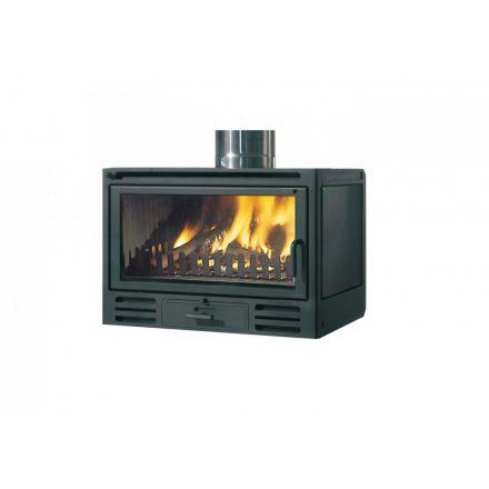 Kandallóbetét / edilkamin firebox riga 49 (v) / 12 kw / 200-as füstcső csatlakozással