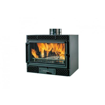 Kandallóbetét / edilkamin firebox deco 54 (v) / 9 kw / 200-as füstcső csatlakozással