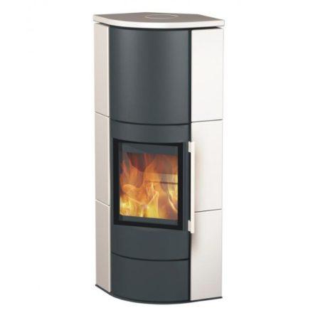 Fireplace adelaide kerámia sarokmodell / 6 kw / 150-es füstcső csatlakozással