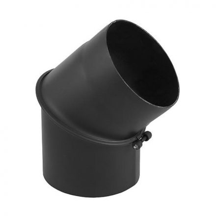 Füstcső könyök / 150mm / 45°