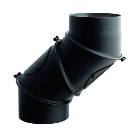 Füstcső uni könyök / 130mm