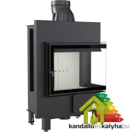 Kandallóbetét / kratki lucy 12 jobb oldalüveges / 12 kw / 200-as füstcső csatlakozással