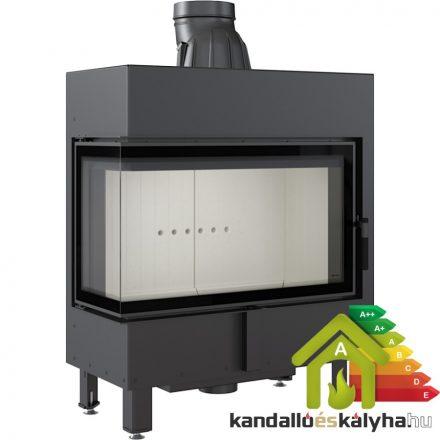 Kandallóbetét / kratki lucy 14 bal oldalüveges / 14 kw / 200-as füstcső csatlakozással
