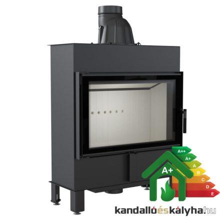 Kandallóbetét / kratki lucy 14 slim / 10 kw / 160-as füstcső csatlakozással