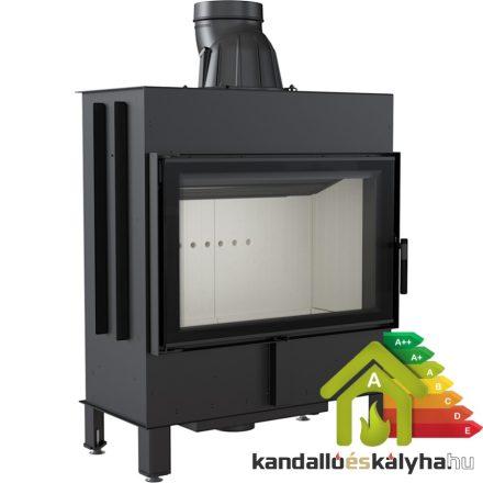 Kandallóbetét / kratki lucy 14 / 14 kw / 200-as füstcső csatlakozással