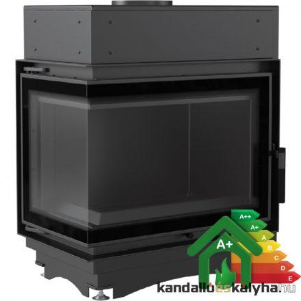 Vízteres fatüzelésű kandalló / kratki maja 12 bl/bs bal egybenyíló deco / 12 kw / 180-as füstcső csatlakozással