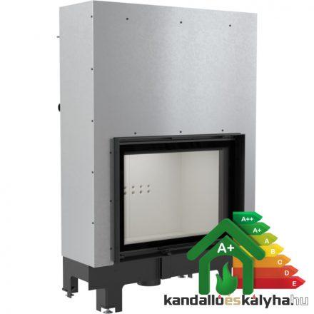 Vízteres fatüzelésű kandalló / kratki mba 17 liftes / 17 kw / 200-as füstcső csatlakozással