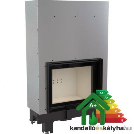 Vízteres fatüzelésű kandalló / kratki mbm 10 liftes / 10 kw / 200-as füstcső csatlakozással