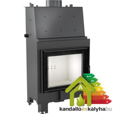 Vízteres fatüzelésű kandalló / kratki mbz 13 / 13 kw / 200-as füstcső csatlakozással