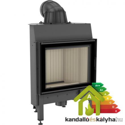 Kandallóbetét / kratki pro nadia 10 / 10 kw / 200-as füstcső csatlakozással