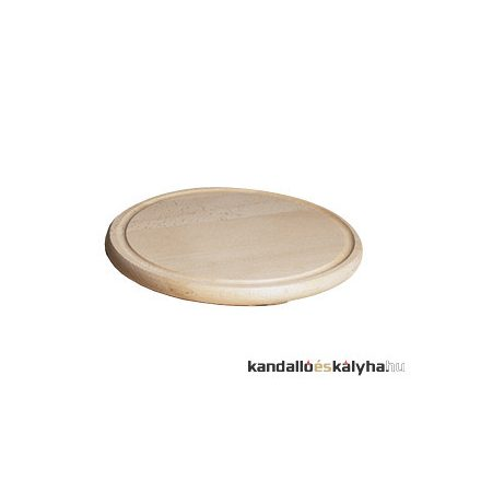 Fa tányér - 28 cm