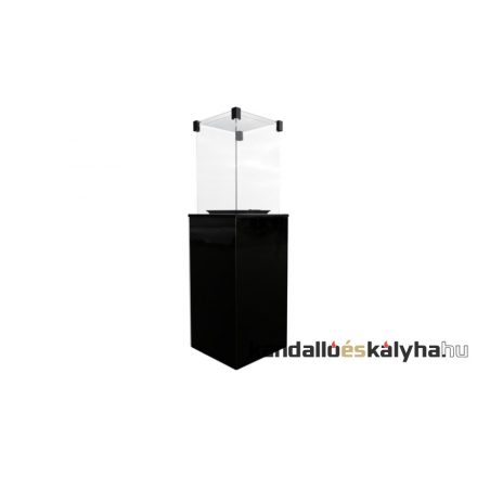 Szabadon álló gáz kandalló / kratki patio teraszmelegítő / kézi vezérlésű / 3 színben