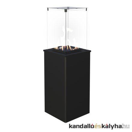 Szabadon álló gáz kandalló / kratki patio mini teraszmelegítő / kézi vezérlésű / 3 színben