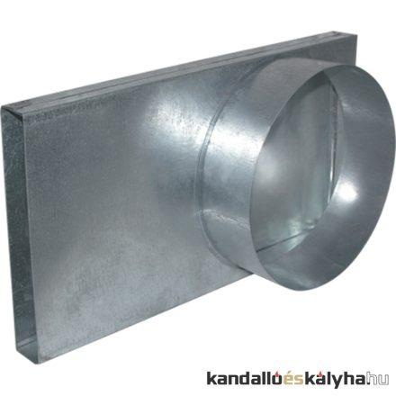 Külső levegő csatlakozó átalakító idom 90/150 / kratki tűzterekhez