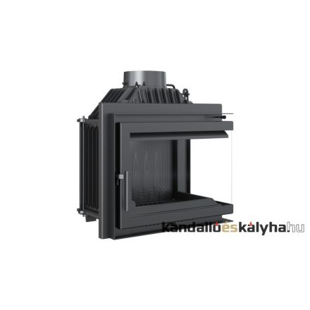 Kandallóbetét / kratki simple jobb oldalüveges / 11 kw / 200-as füstcső csatlakozással