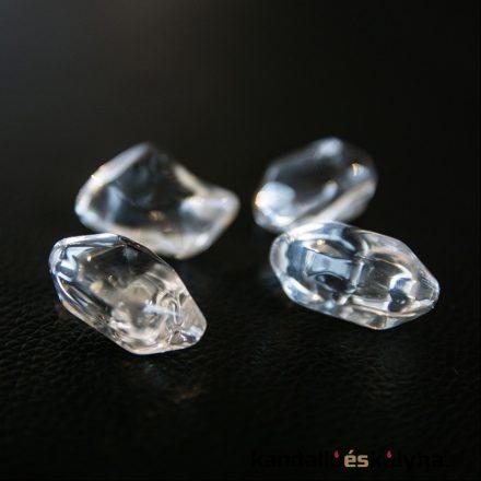 Kő dekoráció / átlátszó kristály / 1kg